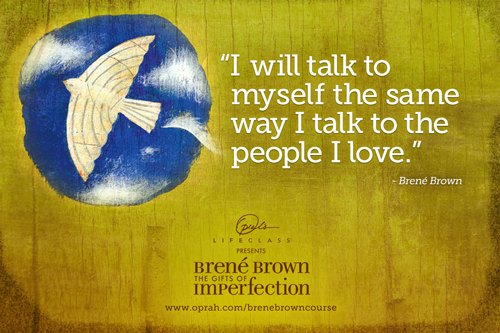 I will talk to myself