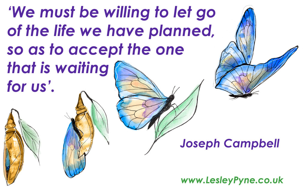 Joseph Campbell let go
