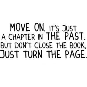You don't have to let go of the past