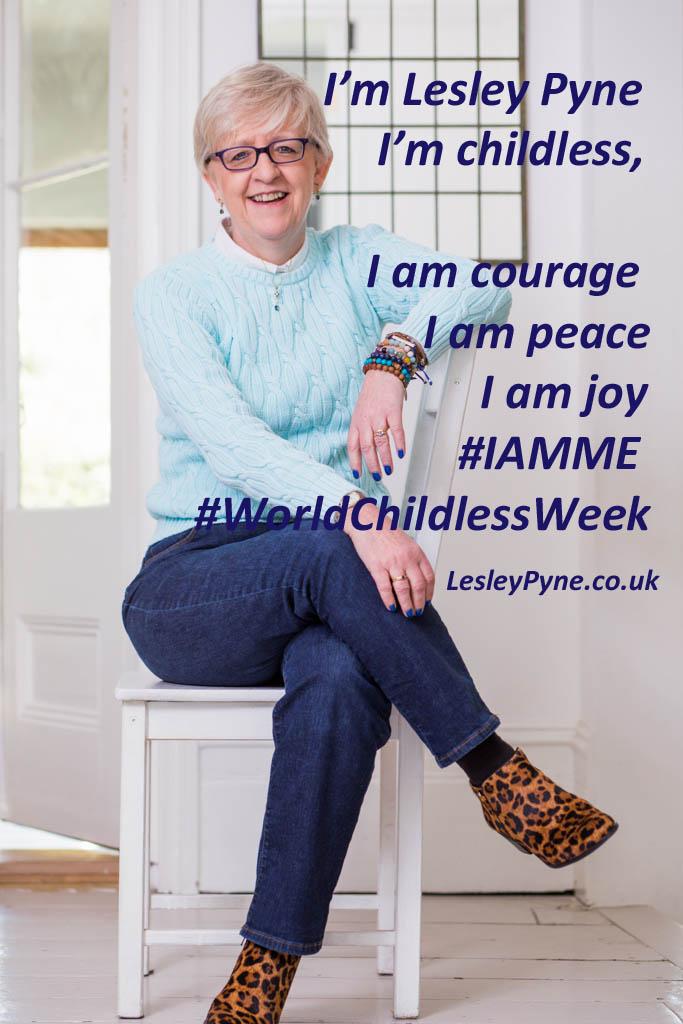 Hello, I'm Lesley Pyne, I'm childless
